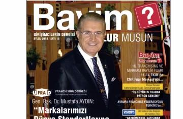 """Bayim Olur Musun?"" Dergisi - EYLÜL 2018"